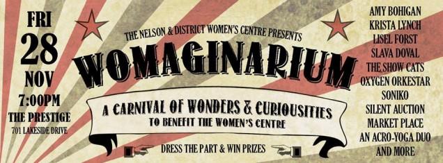 Womaginarium – November 28th