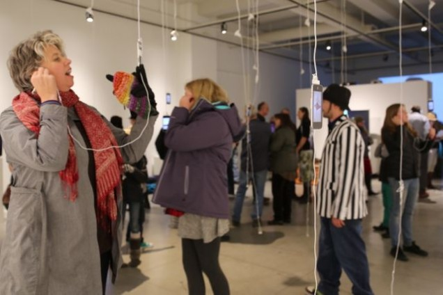 Opening and Artist Talk for Wide Shot/Close Up
